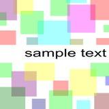 Pastel squares background. Colorful pastel squares background illustration Royalty Free Stock Photos