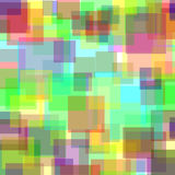 Pastel squares background Stock Image