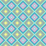 Pastel squares oblic Royalty Free Stock Image