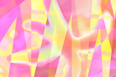 Pastel starfish. Abstract background design Stock Photography