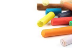 Pastel sticks Stock Images