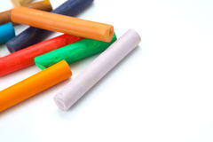 Pastel sticks Stock Photos