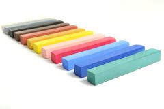 Pastel sticks Stock Photo