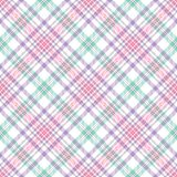Pastel Stripe Plaid Royalty Free Stock Photos