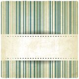 Pastel striped old background Stock Image