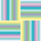 Pastel stripes extended Stock Photography