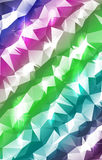 Pastel Stripes Polygonal Abstract Royalty Free Stock Images