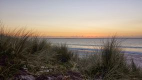 Pastel Sunrise over the Ocean Royalty Free Stock Photo