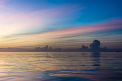 Pastel sunset Stock Photo