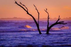Pastel Sunset Seascape Stock Image