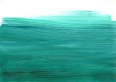 Pastel sztuki Zielony Biały tło Fotografia Stock
