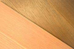 pastel tone and walnut wood veneer background Stock Photo