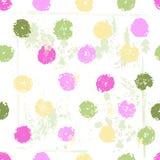 Pastel tones polka dot seamless pattern Royalty Free Stock Images