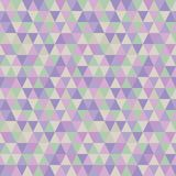 Pastel Triangles Seamless Pattern royalty free illustration
