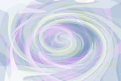 Pastel Twirl Background Royalty Free Stock Photography