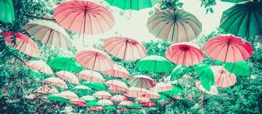 Pastel umbrella. Pastel color of umbrella for banner stock images