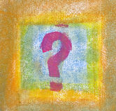 Pastel: The Unanswered Question Stock Photos