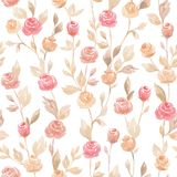 Pastel vector seamless flower pattern backdrop background. The pastel vector seamless flower pattern backdrop background vector illustration