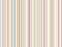Pastel vintage stripes Stock Image