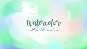 Pastel watercolor backdrop.  Fashion background. Watercolor brush strokes. Creative illustration. Artistic color palette. Vector. Illustration vector illustration