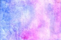 Pastel watercolor background. royalty free illustration