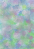 Pastel watercolor background in blue, pink and green colors. Stock Image