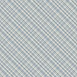 Pastel watercolor gingham plaid seamless pattern. Vector background stock illustration
