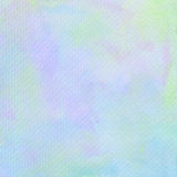 Pastel watercolor on tissue paper pattern.  Stock Image