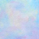Pastel watercolor on tissue paper pattern Royalty Free Stock Image