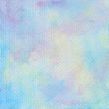 Pastel watercolor on tissue paper pattern Royalty Free Stock Photos