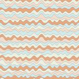 Pastel wave texture, seamless vector pattern for fashion textile, backdrops, wallpapers, wrapping paper and other.  Royalty Free Stock Photography