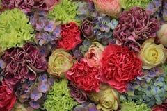 Pastel wedding arrangement Stock Images