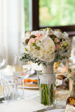 Pastel wedding bouquet Stock Images