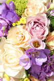 Pastel wedding bouquet Stock Photos