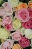 Pastel wedding bouquet Stock Photography