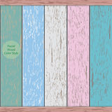 5 pastel wood background Stock Photo