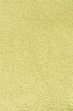 Pastel yellow fabric texture Stock Photography