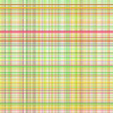 Pastel yellow multicolored stripes plaid Stock Image