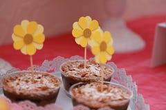 A pastelaria Fotografia de Stock Royalty Free