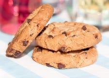 Pastelaria caseiro do chocolate Fotografia de Stock