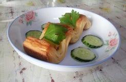 Pastelaria chinesa Fotografia de Stock Royalty Free