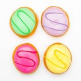 Pastelaria colorida Fotos de Stock