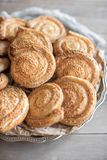 Pastelaria cozida do sésamo Foto de Stock Royalty Free