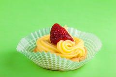 Pastelaria da morango Imagem de Stock