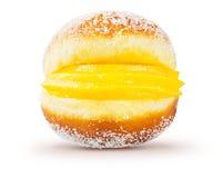 Pastelaria de Bola de Berlim Berliner Portuguese Fried Foto de Stock