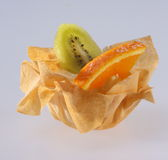 Pastelaria de Fingerfood Fotos de Stock Royalty Free