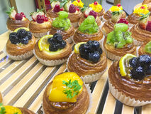 Pastelaria de sopro Imagem de Stock Royalty Free