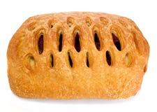 Pastelaria de sopro com atolamento de cereja Imagens de Stock
