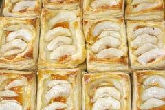 Pastelaria de sopro cozida Imagens de Stock
