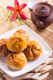 Pastelaria de sopro deliciosa imagem de stock